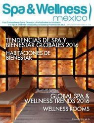 Spa & Wellness MexiCaribe 21, Primavera 2016