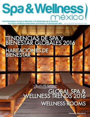 Spa & Wellness MexiCaribe 21, Primavera 2016
