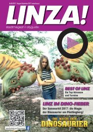 LINZA stadtmagazin Ausgabe#8 – August/September 2017