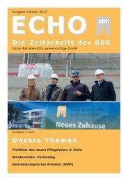 Nr. 1/2012 - Sozial-Betriebe-Köln