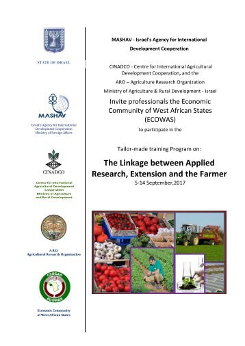 Brochure -Applied research ECOWAS Sep 017