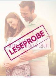 E-Book Schwangerschaft und Geburt - LESEPROBE