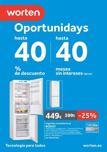 Worten, Oportunidades hasta el 30 de Julio 2017