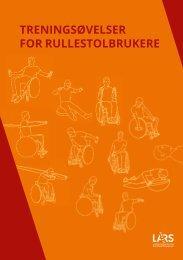 Treningsøvelser for rullestolbrukere