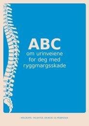 ABC om urinveiene for deg med ryggmargsskade - brukere