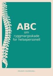 ABC om ryggmargsskade - helsepersonell