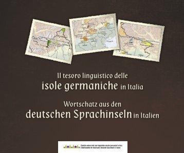 Wortschatz aus den deutschen Sprachinseln in Italien