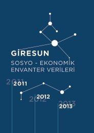 Sosyo-Ekonomik Envanter 2011-2012-2013