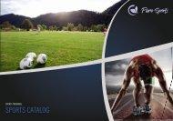Pure sport catalogue
