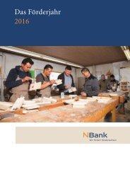 NBank Das Förderjahr 2016