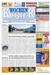 Wochen-Kurier 30/2017 - Lokalzeitung für Weiterstadt und Büttelborn