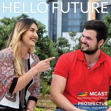 MCAST Prospectus 2017-2018