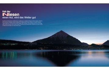 Niesen - marina.ch - das nautische Magazin der Schweiz
