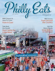Philly Eats Magazine Second Edition 2017