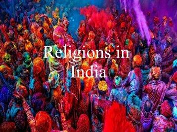Religion in Indien