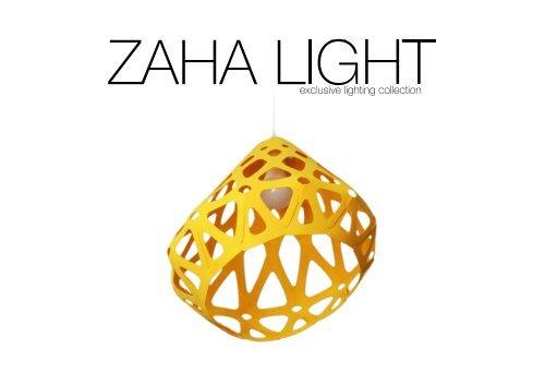 ZAHA LIGHT catalog $