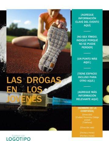 las  drogas     en    los jovenes
