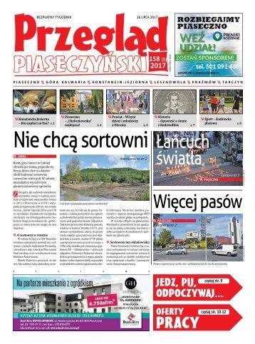 Przegląd Piaseczyński, Wydanie 158