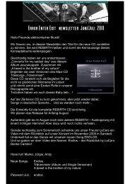 newsletter Juni Juli 2010 deutsch