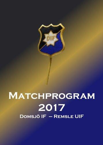 Matchprogram_2017_DIF-RUIF