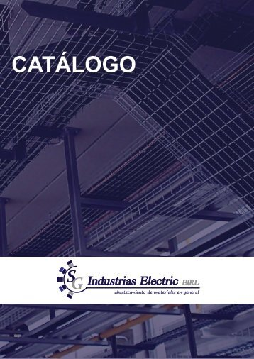 catalogo SG Industrias Electric