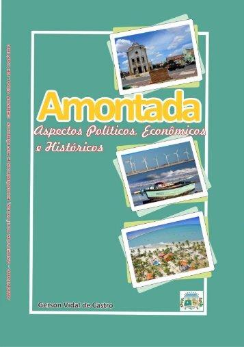 Conheça o Livro na Biblioteca Publica de Amontada Autor Gerson Vidal de Castro