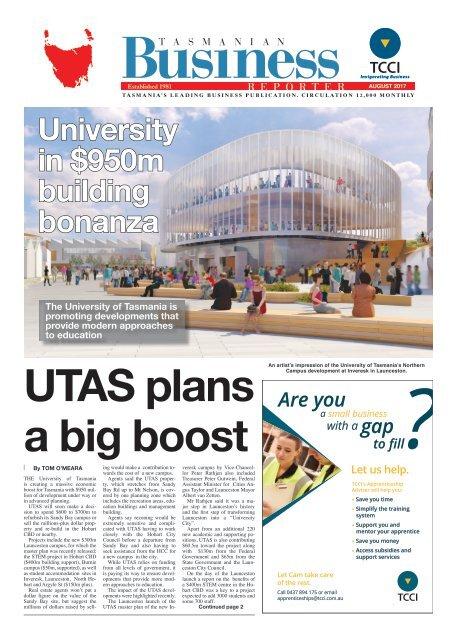 Tasmanian Business Reporter August 2017