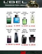 Catalogo de fragancias de Esika, Lbel y Cyzone - Page 2