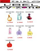 Catalogo de fragancias de Esika, Lbel y Cyzone - Page 5