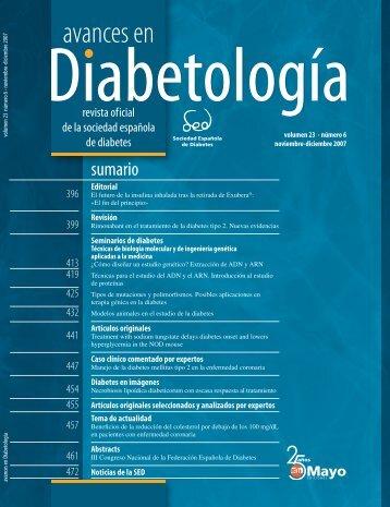 Respuesta del Dr. Mario Ávila - Sociedad Española de Diabetes