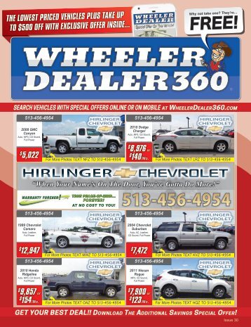 Wheeler Dealer Issue 30, 2017