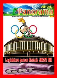 JK PANORAMA JULY ISSUE