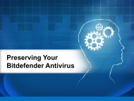 Preserving Your Bitdefender Antivirus
