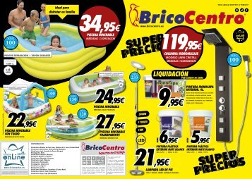 FOLLETO BricoCentro SUPER PRECIOS hasta 19 de Agosto 2017