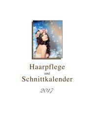 Der Haarpflege- und Schnittkalender aus dem Metatron-Verlag