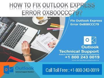 How To Fix Outlook Express Error 0x800CCC79