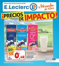 Folleto E.Leclerc del 25 al 31 de Julio 2017
