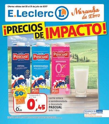 Folleto E.Leclerc del 25 al 31 de Julio 2017