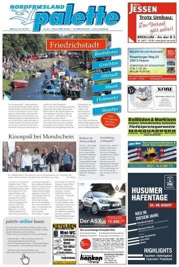 Nordfriesland Palette 30 2017