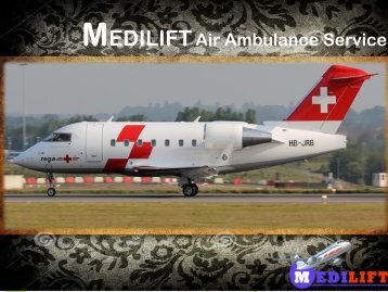 Get Economical Air Ambulance in Raipur by Medilift