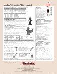 Mueller® Super Centurion 250™ Fire Hydrant - Mueller Co. - Page 6