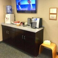 Refreshment bar at Shoreline Dental Care West Haven, CT 06516
