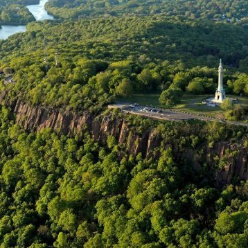 Soldiers and Sailors Monument East Rock located 8.2 miles to the north of New Haven dentist Shoreline Dental Care