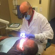 West Haven's top dentist Dr. Joseph D. Tartagni at work in Shoreline Dental Care