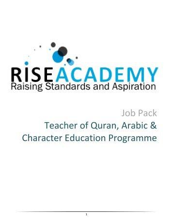 Job Pack - Teacher