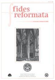 Fides 21 N1 - Revista do Centro Presbiteriano Andrew Jumper