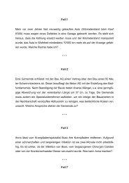 Fall 1 Mein vor zwei Jahren fast neuwertig ... - Hardy-Landolt.ch
