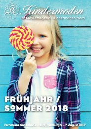 Kindermoden Nord Messemagazin August 2017