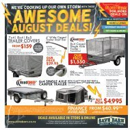 Save Barn August Mailer