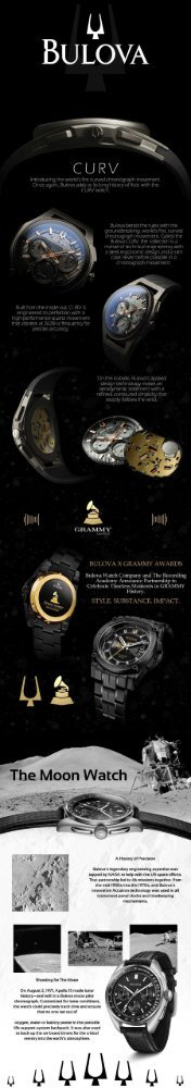 First Class Watches Bulova Infographic